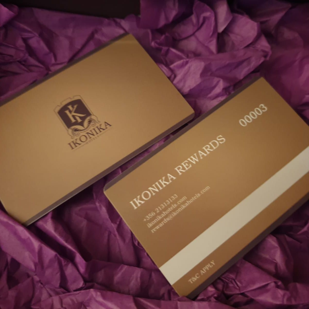 Enrol Now - IKONIKA REWARDS offers exclusive member only benefits and the facility to earn free overnight stays, SPA services and gift vouchers.
